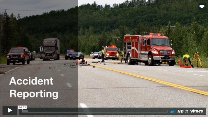 Accident Reporting Training Video Screenshot