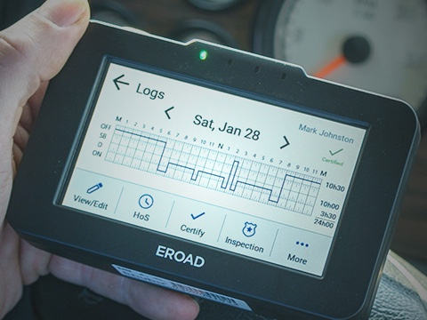 EROAD Electronic Driver Log Device